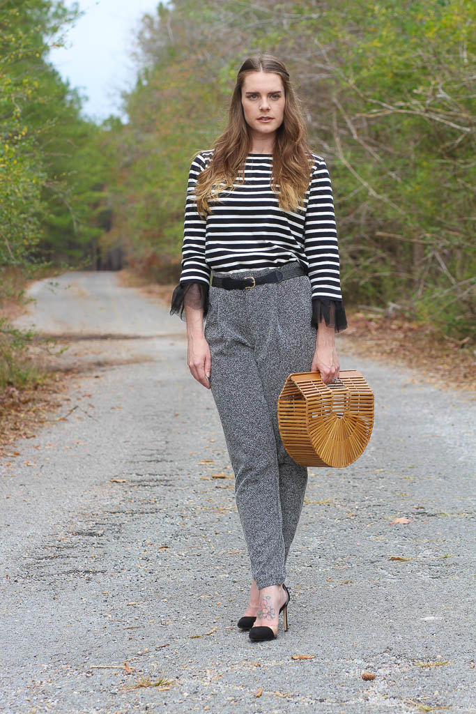 Fall Outfits- J Crew Sweater- Cult Gaia Bag