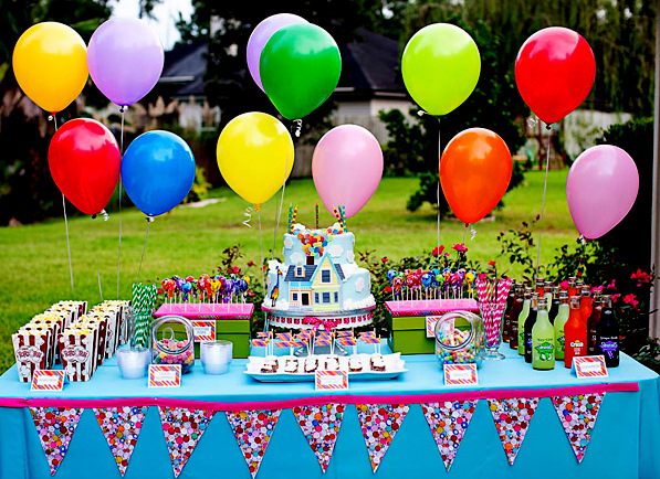 This Is One Of My Favorite Parties That Featured On The Site Up Themed Birthday Party For A 7 Year Old