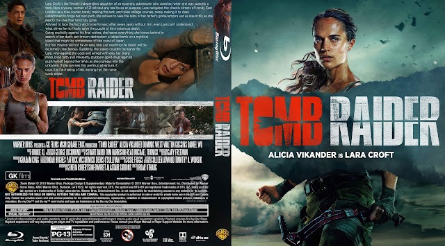 Tomb Raider Bluray Cover