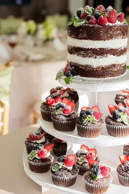 cupcakes rustykalne