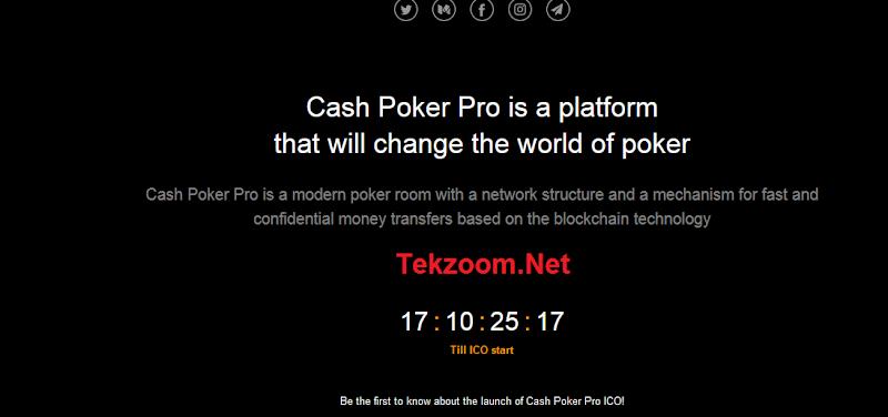 Review ICO Cash Poker Pro [CASH] - Dự án trò chơi Casino