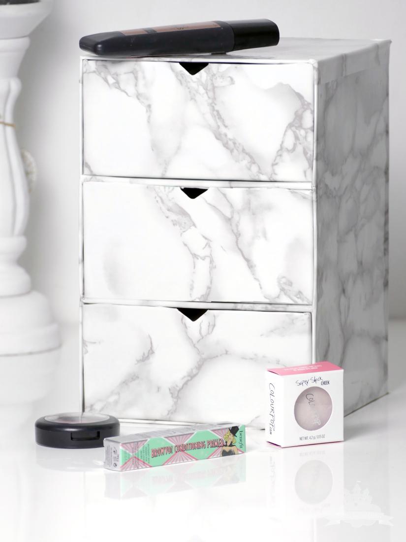Upcycling Schubladenaufbewahrung Marmor Douglas Box