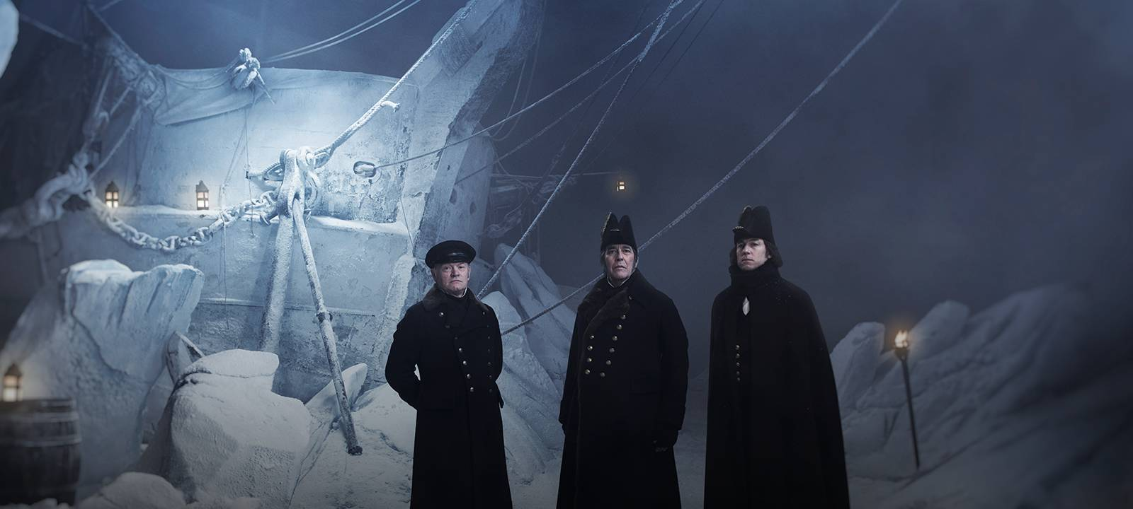 THE TERROR - Serie  - Jared Harris , Ciarán Hinds y Tobias Menzies