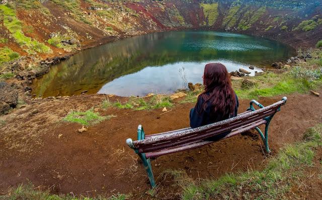 Kerið Islande Roadtrip