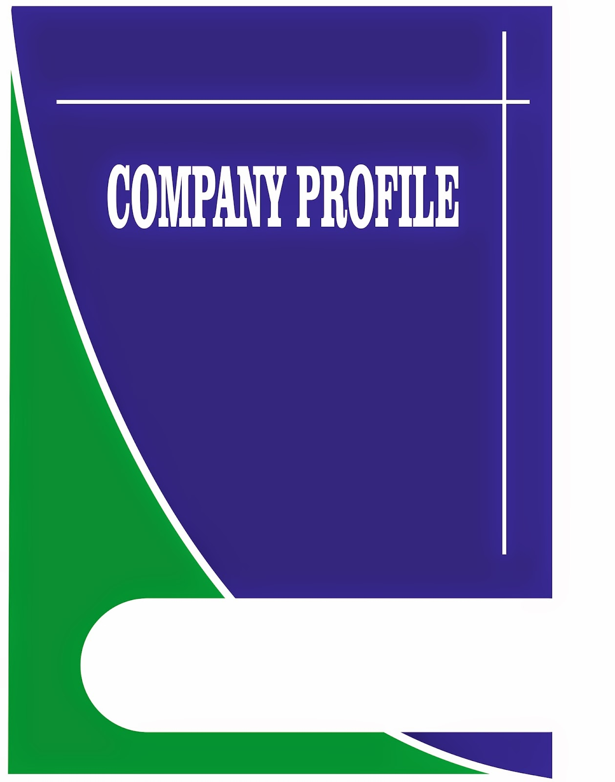 contoh company profile format