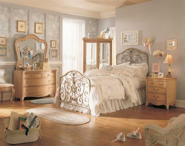 Vintage Girls Bedroom Ideas Interior Designs Room