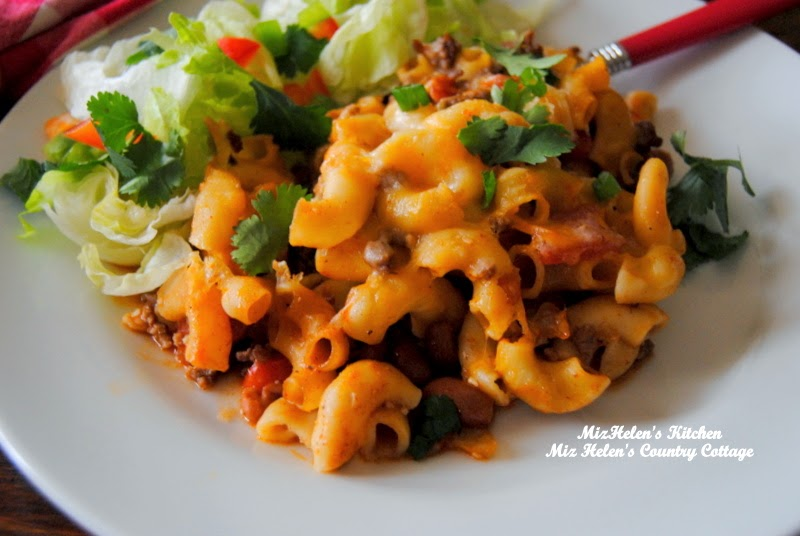 Chili Mac Casserole at Miz Helen's Country Cottage