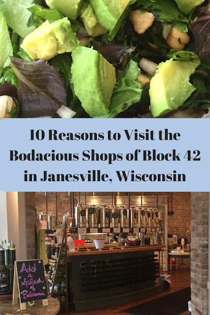 10 Reasons to Visit the Bodacious Shops of Block 42 in Janesville, Wisconsin