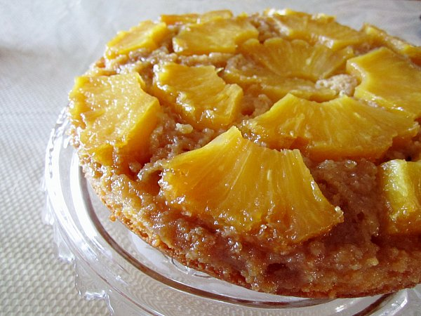 Fresh Pineapple Upside Down Cake With Cake Mix