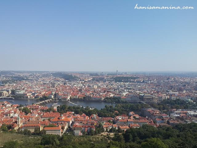Petřín - Scenic Viewpoint of Prague, Czech