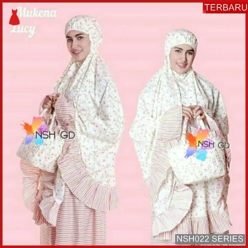 NSH022M42 MUKENA ARAB TERBARU SHABBY LUCY BMGSHOP
