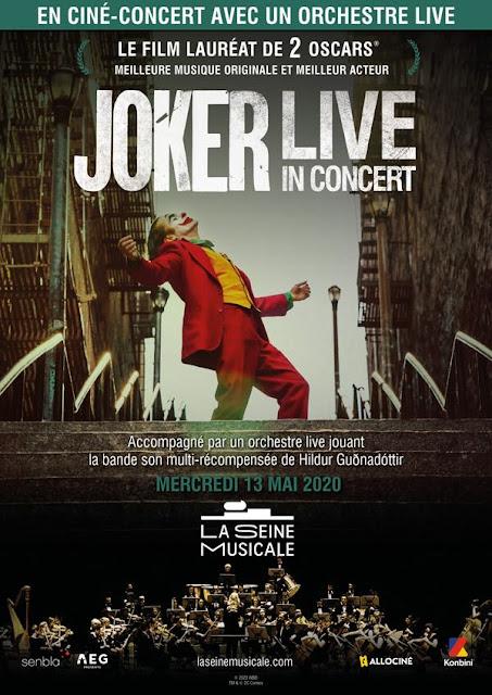 Joker sera en ciné-concert à Paris le 13 mai 2020