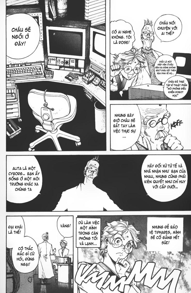 Battle Angel Alita chapter 36 trang 10