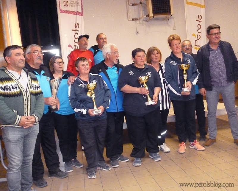 Championnat de l'Hérault de Triplette 2019