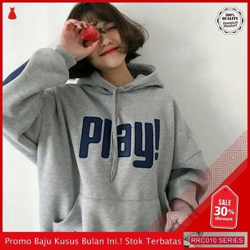 RRC010S39 Sweater Terbaru Hodie Play Elbow Wanita Terbaru BMGShop