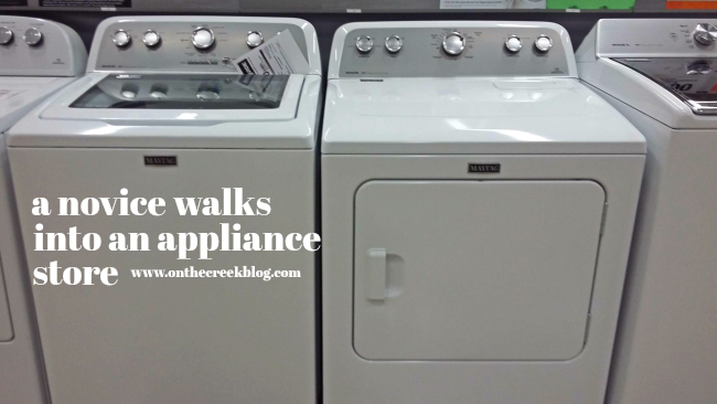 A Novice Walks Into An Appliance Store