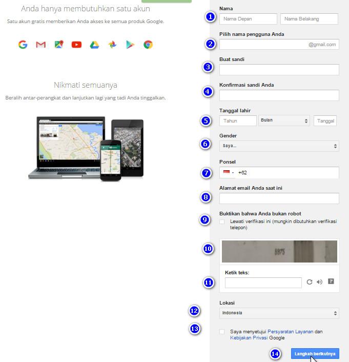 Cara Membuat Email Gmail, Lengkap dengan Gambar