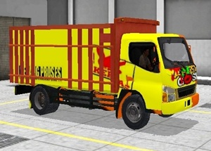 Livery Truk Bussid Canter Anti Gosip