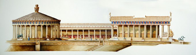 Ασκληπιείο Επιδαύρου, το σημαντικότερο θεραπευτικό κέντρο όλου του ελληνικού και ρωμαϊκού κόσμου.
