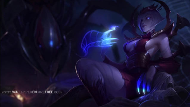 League Of Legends Blood Moon Elise Wallpaper Engine Free