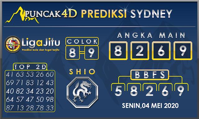 PREDIKSI TOGEL SYDNEY PUNCAK4D 04 MEI 2020