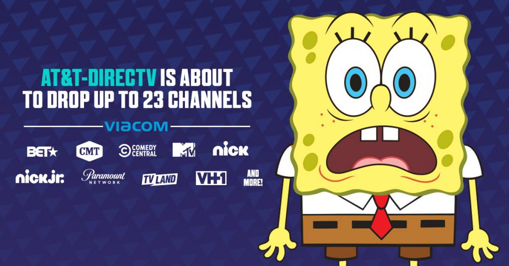 NickALive!: Viacom & AT&T Announce Renewed Contract