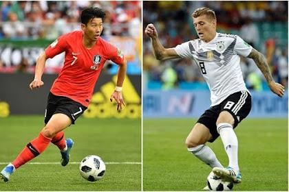 Jerman Tersingkir dari Piala Dunia 2018, Korea Selatan Menang 2-0