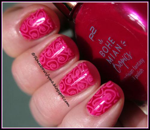 P2 Bohemian Tropics ~ 010 Pink Lily