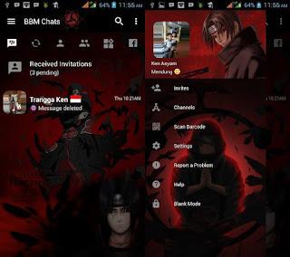 BBM Kakashi Terbaru v3.2.5.12 Clone