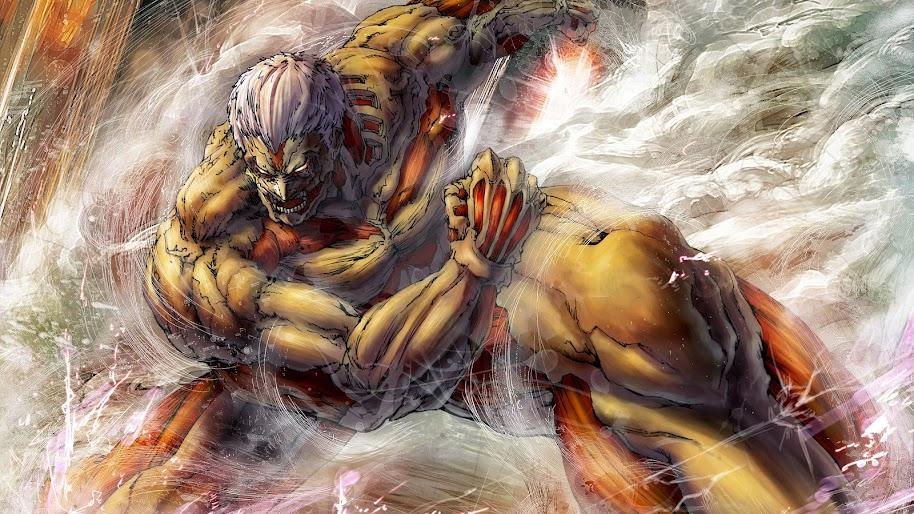 Armored Titan Attack On Titan 4k Wallpaper 167