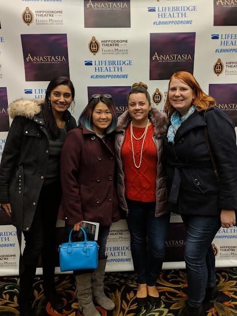 Anastasia national tour