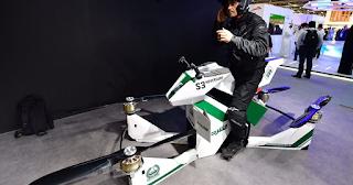 Η αστυνομία του Ντουμπάι χρησιμοποιεί ιπτάμενες μηχανές για επείγοντα περιστατικά