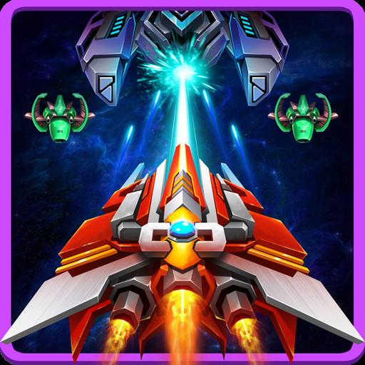 تحميل لعبة Infinite Shooting: Galaxy Attack v1.2.3 مهكرة وكاملة للاندرويد نقود لا نهاية