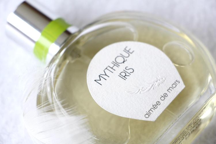 Parfum Mythique Iris slow cosmétique