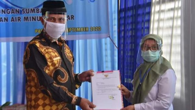 Pemko Padang dan BPPW Sumbar Lakukan Serah Kelola Pekerjaan