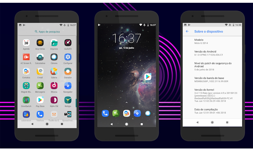 Rom AICP Android 8 1 Fixed Xiaomi Redmi 5 Rosy | Android