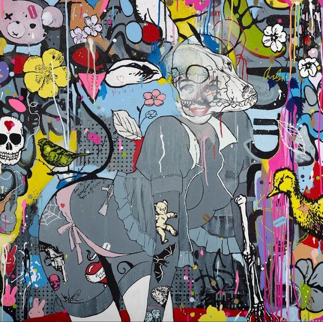 Уличный художник. Hush 3