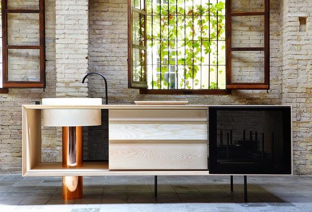 Desain Dapur Kayu dengan Tema Tradisional Rancangan Desain Dapur Kayu dengan Tema Tradisional