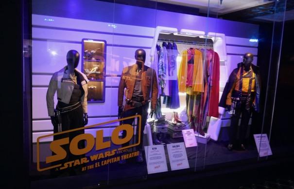 Solo Star Wars film costumes