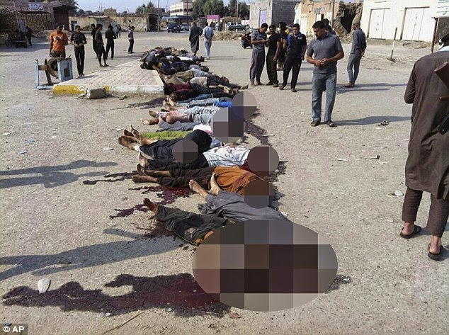 NoozYes : Warning Graphic Photo: ISIS Murders 30 Local Tribal