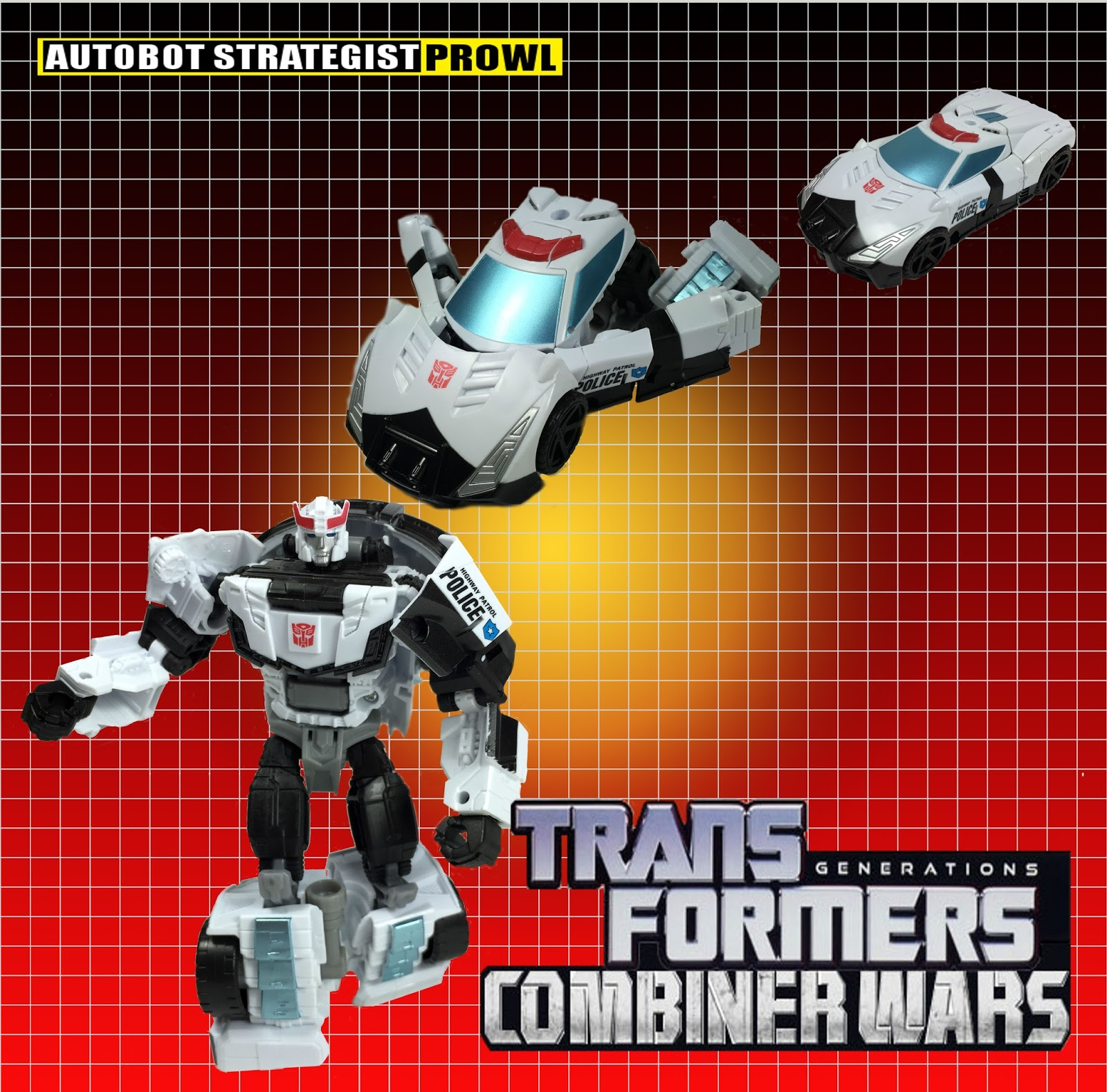 Toybox Soapbox Transformers Combiner Wars Prowl Review
