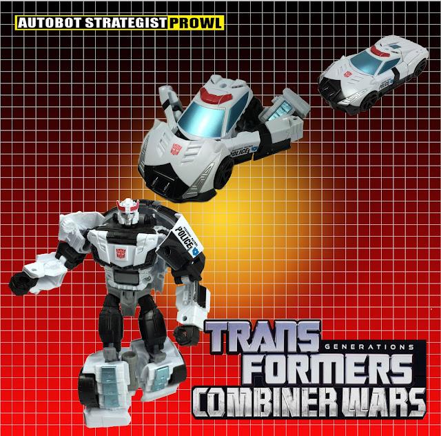 transformers combiner wars deluxe prowl