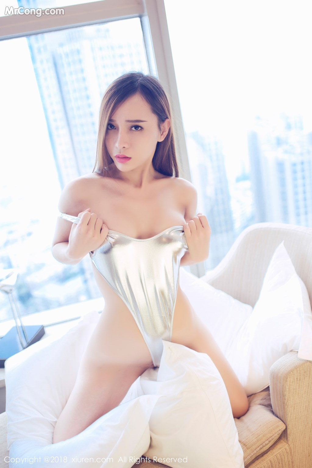Image XIUREN-No.946-Ai-Xiao-Qing-MrCong.com-012 in post XIUREN No.946: Người mẫu Ai Xiao Qing (艾小青) (46 ảnh)