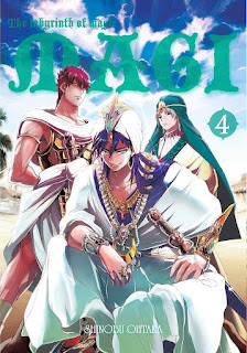 Magi: Labyrinth of Magic #4 - Shinobu Ohtaka