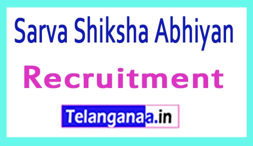 SSA (Sarva Shiksha Abhiyan) Recruitment Notification