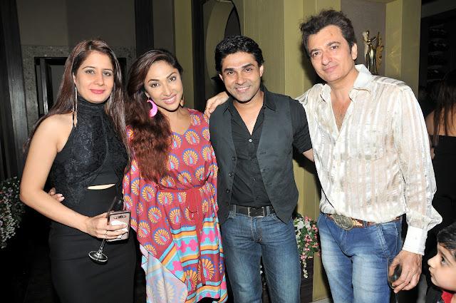 Avinash Wadhawan & Natasha with Mouli Ganguly & Mazhar