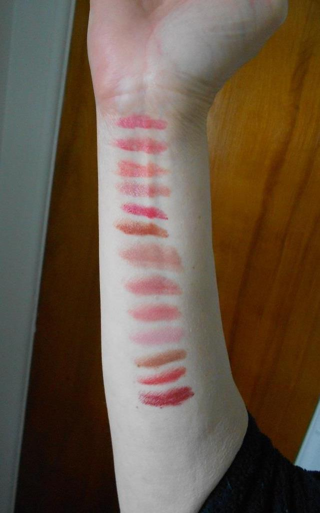 Avon True Color Lipsticks Swatches
