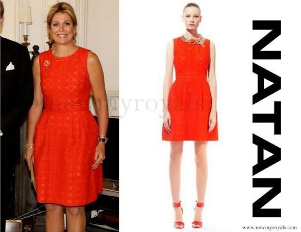 Queen Maxima- wore NATAN Dress