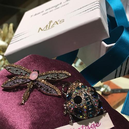 ファッション、イタリア、ブローチ、 アクセサリー、ミヤズ