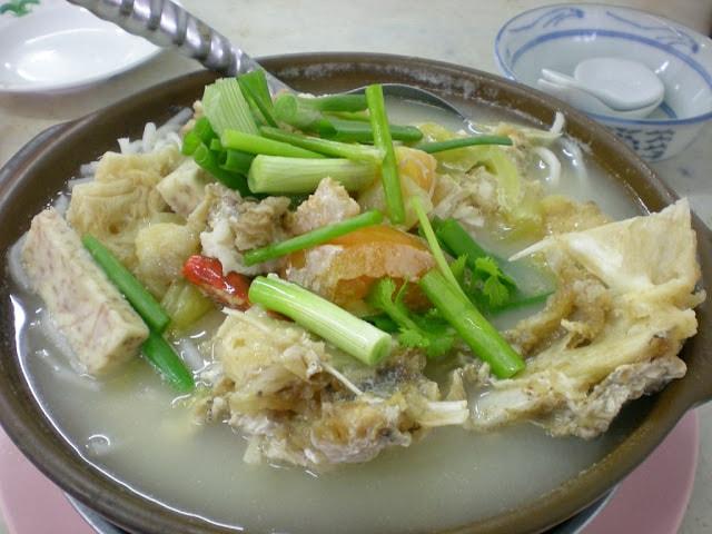 Fish Head Noodle Soup Recipe